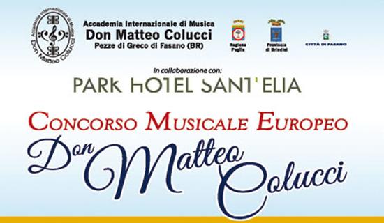 Concorso Musicale Europeo Don Matteo Colucci